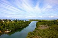 River near Mariel, Artemisa Province, Cuba.