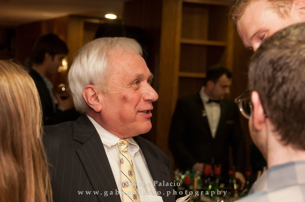 The Harvey School New York City Alumni Reunion at the Cornell Club on April 7, 2015. (photo by Gabe Palacio)