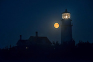 Full Moon at Cape Cod Light
