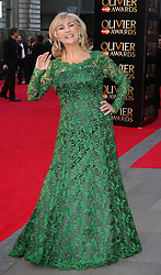 LESLEY GARRETT attends The Laurence Olivier Awards at the Royal Opera House, London, United Kingdom. Sunday, 13th April 2014. Picture by i-Images