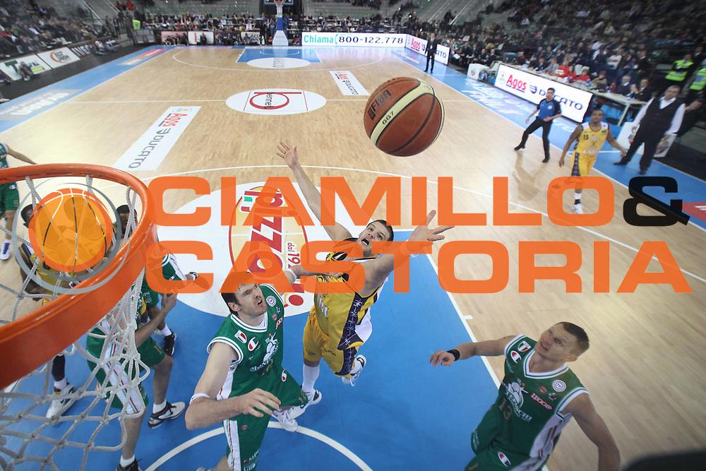 DESCRIZIONE : Torino Coppa Italia Final Eight 2011 Semifinale Montepaschi Siena Fabi Shoes Montegranaro<br /> GIOCATORE : Dejan Ivanov<br /> SQUADRA : Fabi Shoes Montegranaro <br /> EVENTO : Agos Ducato Basket Coppa Italia Final Eight 2011<br /> GARA : Montepaschi Siena Fabi Shoes Montegranaro<br /> DATA : 12/02/2011<br /> CATEGORIA : rimbalzo special<br /> SPORT : Pallacanestro<br /> AUTORE : Agenzia Ciamillo-Castoria/C.De Massis<br /> Galleria : Final Eight Coppa Italia 2011<br /> Fotonotizia : Torino Coppa Italia Final Eight 2011 Semifinale Montepaschi Siena Fabi Shoes Montegranaro<br /> Predefinita :