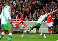 20120114: LISBON, PORTUGAL – Liga Zon Sagres 2011/2012: SL Benfica vs V. Setubal. In picture: Nolito (Benfica).<br />PHOTO: Alvaro Isidoro/CITYFILES