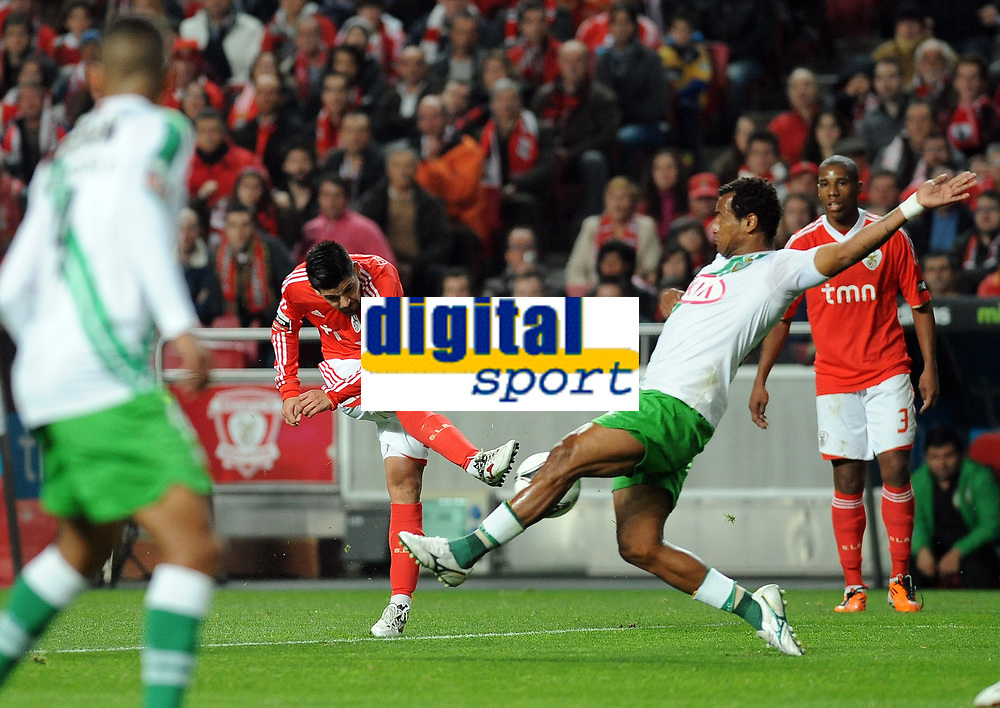 20120114: LISBON, PORTUGAL – Liga Zon Sagres 2011/2012: SL Benfica vs V. Setubal. In picture: Nolito (Benfica).<br />