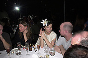 Bjork, Jeff Koons exhibition opening and dinner. Gagosian Gallery and Mr. Chow. Los Angeles. 22 March 2001. © Copyright Photograph by Dafydd Jones 66 Stockwell Park Rd. London SW9 0DA Tel 020 7733 0108 www.dafjones.com