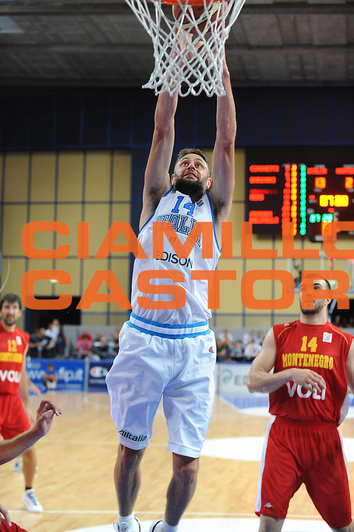 DESCRIZIONE : Bari Qualificazioni Europei 2011 Italia Montenegro<br /> GIOCATORE : Tomas Ress<br /> SQUADRA : Nazionale Italia Uomini <br /> EVENTO : Qualificazioni Europei 2011<br /> GARA : Italia Montenegro<br /> DATA : 26/08/2010 <br /> CATEGORIA : Tiro<br /> SPORT : Pallacanestro <br /> AUTORE : Agenzia Ciamillo-Castoria/GiulioCiamillo<br /> Galleria : Fip Nazionali 2010 <br /> Fotonotizia : Bari Qualificazioni Europei 2011 Italia Montenegro<br /> Predefinita :