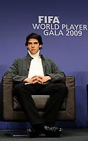 Fotball<br /> FIFA World Player Gala 2009<br /> 21.12.2009<br /> Foto: EQ Images/Digitalsport<br /> NORWAY ONLY<br /> <br /> Kaka (BRA) an der Pressekonferenz.