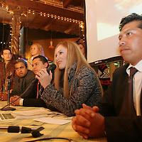 Metepec, Mex.- Presentacion del programa Vision de Altura, primer produccion independiente de un programa de revista que se transmitira los domingos a las 10:30 A.M. por Televisa Toluca. Agencia MVT / Mario Vazquez de la Torre. (DIGITAL)<br /> <br /> NO ARCHIVAR - NO ARCHIVE
