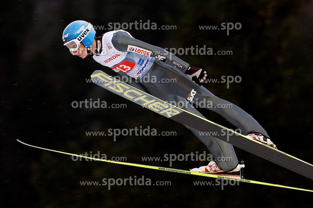 29.12.2013, Schattenbergschanze, Oberstdorf, GER, FIS Ski Sprung Weltcup, 62. Vierschanzentournee, Training, im Bild Krzysztof Biegun // Krzysztof Biegun during practice Jump of 62 th Four Hills Tournament of FIS Ski Jumping World Cup at the Schattenbergschanze in Oberstdorf, Germany on 2013/12/29. EXPA Pictures &copy; 2013, PhotoCredit: EXPA/ Newspix/ Dawid Markysz<br /> <br /> *****ATTENTION - for AUT, SLO, CRO, SRB, BIH, MAZ, TUR, SUI, SWE only*****