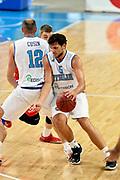 DESCRIZIONE : Skopje Nazionale Italia Uomini Torneo Internazionale di Skopje Italia Polonia Italy Poland<br /> GIOCATORE : Alessandro Gentile Marco Cusin<br /> CATEGORIA : Palleggio Blocco<br /> SQUADRA : Italia Italy<br /> EVENTO : Trofeo Internazionale di Skopje<br /> GARA : Italia Polonia Italy Poland<br /> DATA : 27/07/2014<br /> SPORT : Pallacanestro<br /> AUTORE : Agenzia Ciamillo-Castoria/GiulioCiamillo<br /> Galleria : FIP Nazionali 2014<br /> Fotonotizia : Skopje Nazionale Italia Uomini Torneo Internazionale di Skopje Italia Polonia Italy Poland