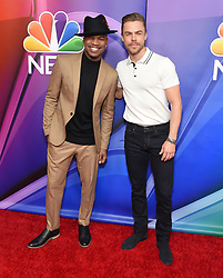 February 20, 2019 - Hollywood, California, U.S. - Ne-Yo and Derek Hough on the carpet at the NBCUniversal Mid Season Press Junket at Universal Studios. (Credit Image: © Lisa O'Connor/ZUMA Wire)