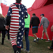 Ryder Cup 2016.  Spectators during practice day at the Hazeltine National Golf Club on September 28, 2016 in Chaska, Minnesota.  (Photo by Tim Clayton/Corbis via Getty Images)