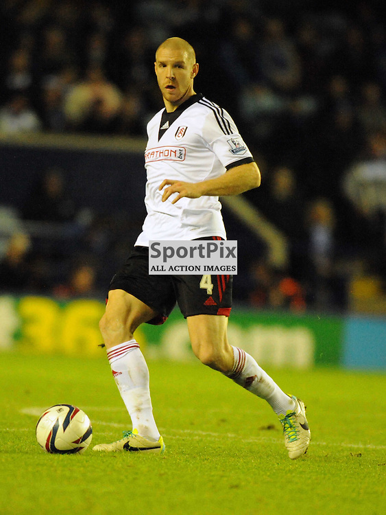 Phillippe Senderos Fulham, Leicester City v Fulham, Capital One Cup, 29th October 2013