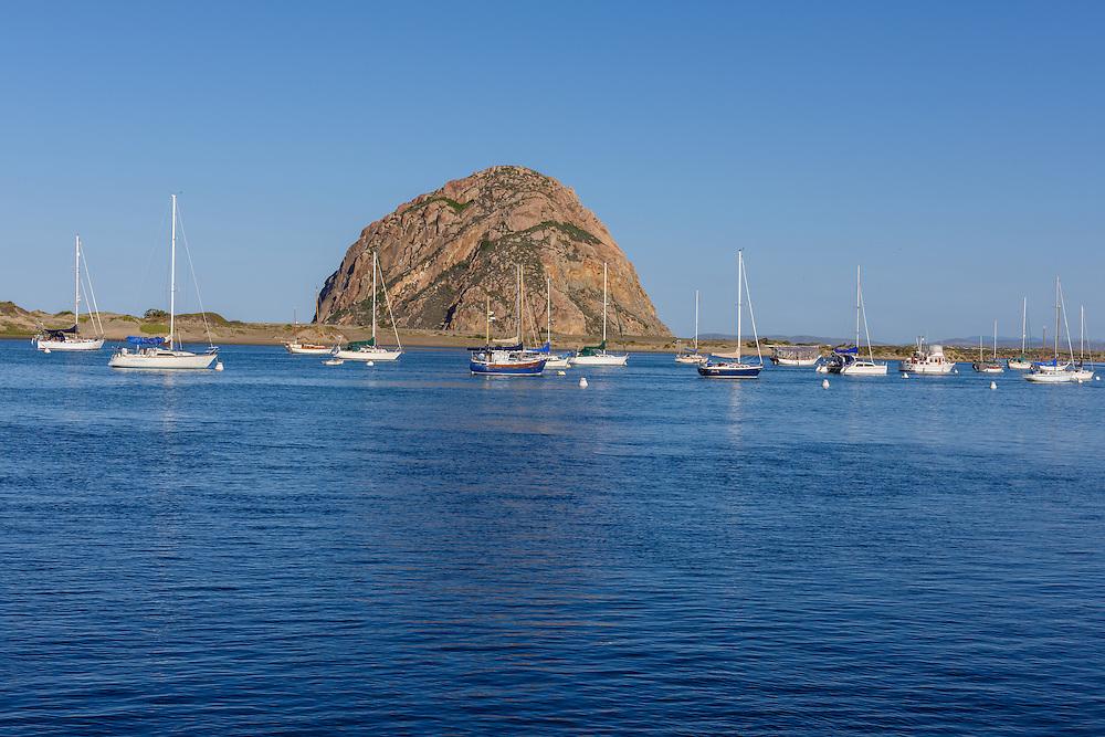 Harbor, Morro Bay is a waterfront city in San Luis Obispo County, California