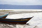 Fishing boats in Lake Eyasi