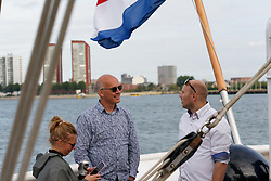 """12-09-2019 NED: Kick-off European Volleyball Men's Championship, Rotterdam<br /> Kick-off for the European Volleyball Men's Championship at the Sailing Ship """"Eendracht"""" with The CEV board, municipal officials of the playing cities, Nevobo and Topsport Rotterdam / Rabobank"""