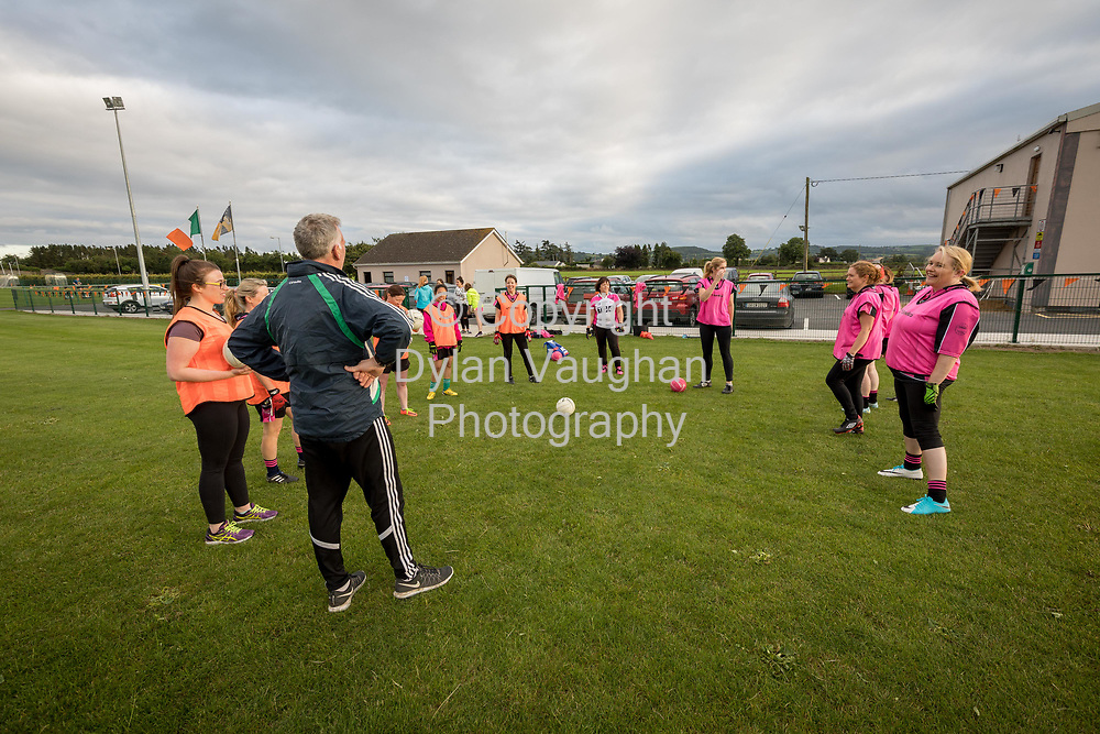 13-7-17<br /> The Ladies football team pictured training at Conahy Shamrocks in Kilkenny.<br /> <br /> <br /> Picture Dylan Vaughan.
