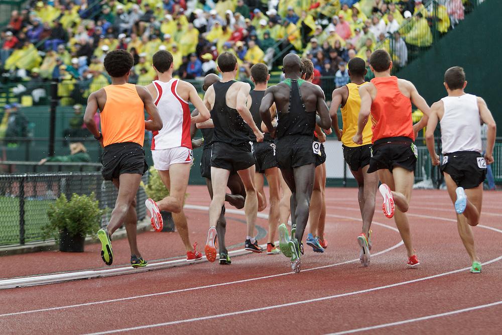 men's 5000 meter prelim,