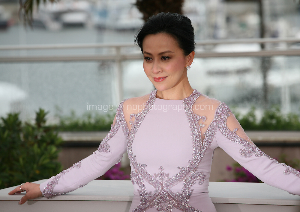 Actress Carina Lau at the Bends film photocall at the Cannes Film Festival 18th May 2013