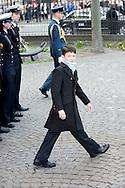 14.04.11. Copenhagen, Denmark..Prince Nicolai's leaves the Holmens Church after christening ceremony..Photo: Ricardo Ramirez