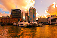 Queen's Wharf, waterfront, Auckland, New Zealand