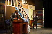 Mary Poppins dress rehearsal with The Streetcar Company at Interlakes High School auditorium.  Karen Bobotas for the Laconia Daily Sun