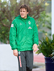 11.01.2014, Trainingsplatz, Jerez de la Frontera, ESP, 1. FBL, SV Werder Bremen, Trainingslager, im Bild Clemens Fritz (SV Werder Bremen #8) // Clemens Fritz (SV Werder Bremen #8) during Trainingsession of German Bundesliga Club SV Werder Bremen at Trainingsplatz in Jerez de la Frontera, Spain on 2014/01/11. EXPA Pictures © 2014, PhotoCredit: EXPA/ Andreas Gumz<br /> <br /> *****ATTENTION - OUT of GER*****