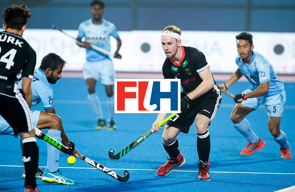 BHUBANESWAR - The Odisha Men's Hockey World League Final . Timur Oruz (Ger)  during  the match India v Germany. WORLDSPORTPICS COPYRIGHT  KOEN SUYK