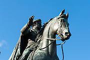 Reiterstandbild Carl August, Platz der Demokratie, Weimar, Thüringen, Deutschland | memorial Carl August, Platz der Demokratie, Weimar, Thuringia, Germany