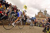 Muur du Grammont, Hoste leads Tom BOONEN 1st..