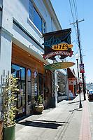 Shark Bites Restaurant. Coos Bay, Oregon.