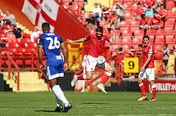 Sam Field of Charlton Athletic controls the ball - Mandatory by-line: Arron Gent/JMP - 14/09/2019 - FOOTBALL - The Valley - Charlton, London, England - Charlton Athletic v Birmingham City - Sky Bet Championship
