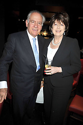 """LORD & LADY GUTHRIE at a party to promote the """"American Songbook in London"""" aseries of intimate concerts featuring 1959 Broadway songs, held at Pizza on The Park, Hyde Park Corner, London on 18th March 2009."""