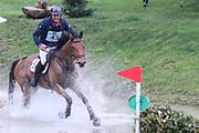 Tol Chik Du Levant ridden by Remi Pillot in the Equi-Trek CCI-L4* Cross Country during the Bramham International Horse Trials 2019 at Bramham Park, Bramham, United Kingdom on 8 June 2019.
