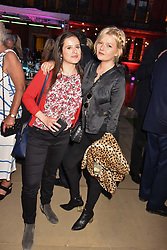 Juliet Conway and Sophie Kennedy Clark at the Victoria & Albert Museum's Summer Party in partnership with Harrods at The V&A Museum, Exhibition Road, London, England. 20 June 2018.