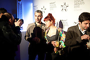 FRANCESCO RUGI,; SILVIA QUINTANILLA;  Wallpaper Design Awards 2012. 10 Trinity Square<br /> London,  11 January 2011.