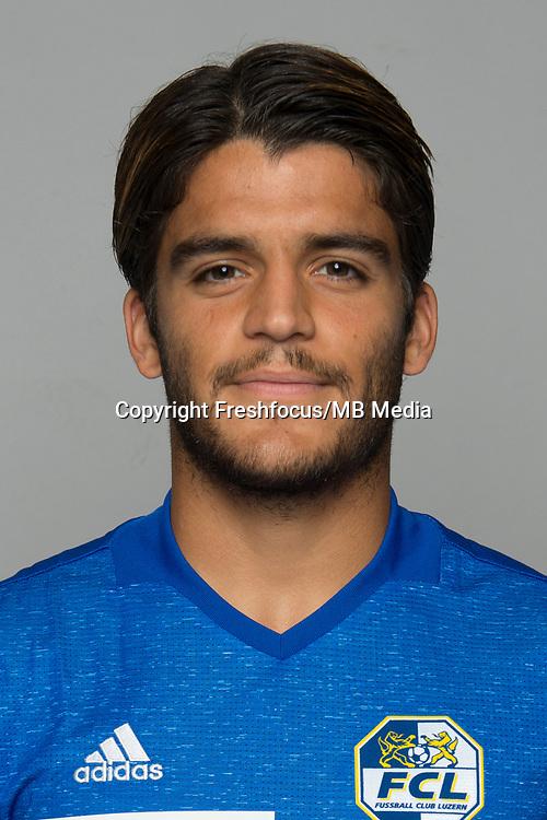 10.07.2017; Luzern; FUSSBALL SUPER LEAGUE - FC Luzern;<br /> Francisco Rodriguez (Luzern) <br /> (Martin Meienberger/freshfocus)