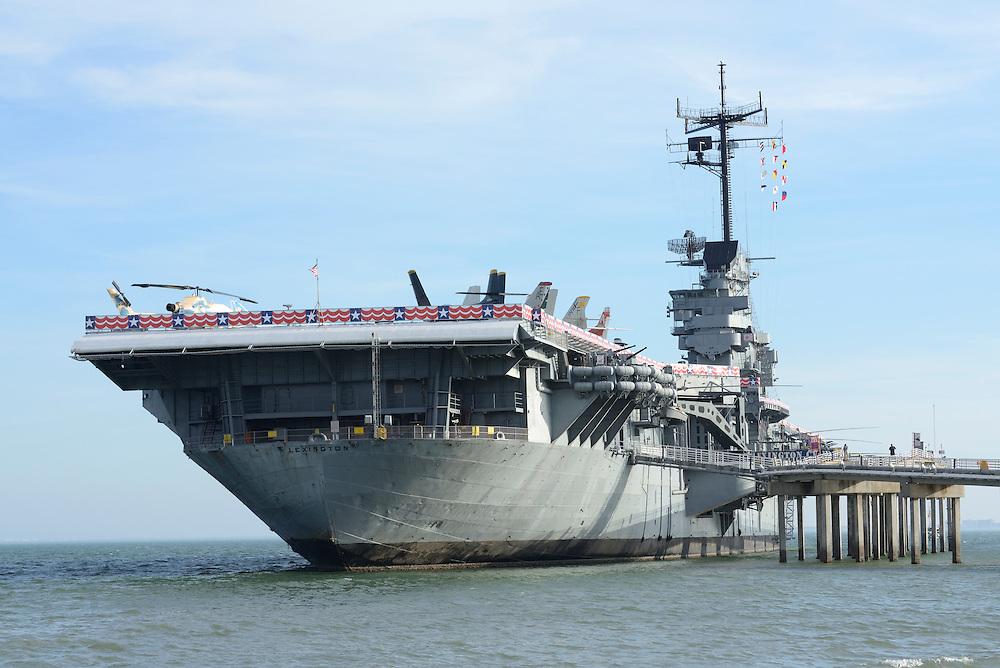 USS Lexington Museum, Aircraft Carrier,Corpus Christi, Texas,USA