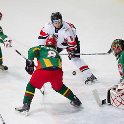 20101212: SLO, Ice Hockey - 2011 IIHF World U20 Championship Division I: Lithuania vs Austria