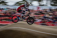 #110 (SMULDERS Laura) NED at the 2018 UCI BMX Superscross World Cup in Saint-Quentin-En-Yvelines, France.