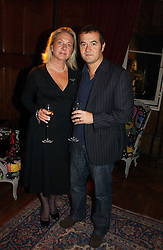 Music producer STEPHEN STREET and his wife SARAH at The Hospital Awards - to honour talent in the creative industry, held at 9 Grosvenor Place, London on 3rd october 2006.<br /><br />NON EXCLUSIVE - WORLD RIGHTS