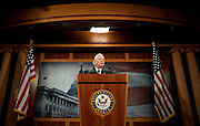 Apr 28,2010 - Washington, District of Columbia USA - .Maryland Senator Ben Cardin explains to the media Wednesday afternoon that the Democrats plan on keeping the Senate in session, overnight if necessary to get the Rebublicans to move to a debate of the Financial Reform Bill.(Credit Image: © Pete Marovich Images)