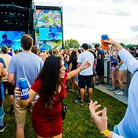 DENVER, CO -- September 14, 2018 -- Logic performs at the Grandoozy Festival at Overland Park in Denver.  (PHOTO / REDLIGHTS AND REDEYES, Chip Litherland)