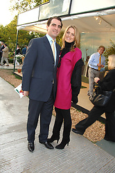 PRINCE NICKOLAS OF GREECE and close friend TATIANNA BLAHNIK attending the 2nd day of the 2008 Chelsea Flower show on 20th May 2008.<br />