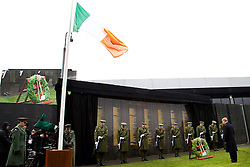 The Interfaith Service and Unveiling of Necrology Wall, Glasnevin Cemetery, Sunday 3 April 2016.<br /> <br />  <br /> An Taoiseach Enda Kenny TD.