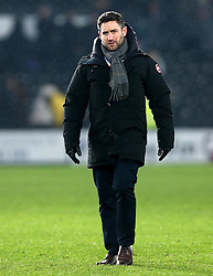 Bristol City head coach Lee Johnson - Mandatory by-line: Robbie Stephenson/JMP - 11/02/2017 - FOOTBALL - iPro Stadium - Derby, England - Derby County v Bristol City - Sky Bet Championship