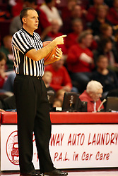 6 February 2010: Referee Don Daily. The Redbirds of Illinois State pull out a win against the Bulldogs of Drake 71-68 on Doug Collins Court inside Redbird Arena at Normal Illinois.