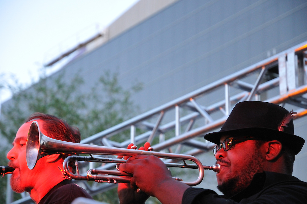 Chillie Willie Groove in concert at 2nd Saturdays Downtown in Tucson, Arizona..