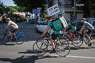 Foodora & Deliveroo Protest