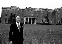 Lord Iveagh at Farmleigh in Castleknock in 1975. (Part of the Independent Ireland Newspapers/NLI Collection)