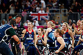 LONDON 2012 WHEELCHAIR BASKETBALL WOMEN